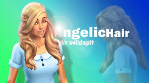 my sims 4 blog angelic hair for females by wildspit