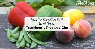 how to transition to a real food traditional diet in 10 steps