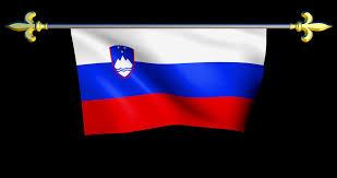 Flag Of Slovenia Large Looping Animated Flag Of Slovenia Stock Video Footage