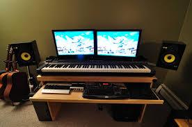 Desk For Dual Monitor Setup Corner Computer Desk Dual Monitor With Dual Monitor Computer Desks