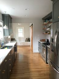 full kitchen remodel in 1928 bungalow craftsman walls benjamin