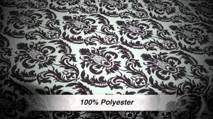 Black And White Table Cloth Tablecloth Made With A Black And White Print Youtube