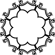 clipart decorative ornamental flourish frame aggrandized 19