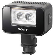 sony hvl le1 handycam camcorder light sony hvl leir1 battery led video and infrared light hvlleir1