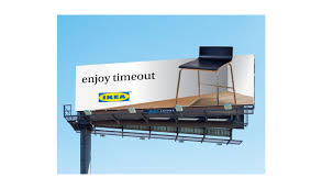 Ikea Outdoor Ad How Donors Give Today
