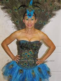 Halloween Peacock Costume Peacock Costume Peacocks Costumes Halloween Ideas