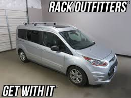 Ford Transit Connect Awning Ford Transit Connect Thule Rapid Podium Silver Aeroblade Roof Rack
