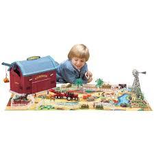 Toy Barn With Farm Animals Toy Farm Sets Big Barn Playset