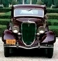 1933 and 34 ford coupe