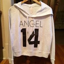 victoria u0027s secret victoria secret angel 14 bling hoodie nwt l