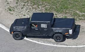 new jeep truck 2017 new 2019 jeep wrangler u0027jt u0027 pick up truck spotted by car magazine