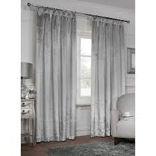 Light Silver Curtains Cheap Curtains From B M