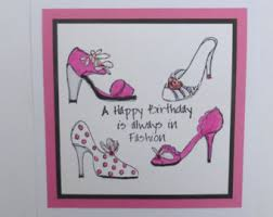 birthday cards with shoes handmade birthday card with shoes and purse search card