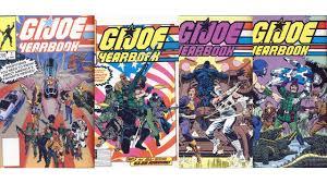 gi joe yearbook g i joe yearbook 1 4 marvel comics 1985 1988 review