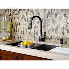 tuscan bronze kitchen faucet tuscan bronze wheaton 1 handle pull kitchen faucet f 529