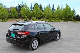 2017 subaru impreza hatchback black 2017 subaru impreza 2 0i premium test drive review autonation