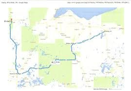 Iron Mountain Michigan Map by Indianhead Motel