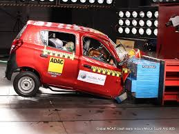 conduct safety crash test at 64 kmph for cars in india govt