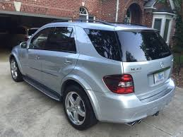 2007 mercedes benz ml63 amg 44 250 miles 23500 greensboro