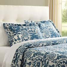 sandrine blue duvet set u0026 reviews birch lane