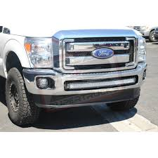 f250 led light bar 2011 2016 ford f250 f350 40 radius led light bar bumper mounts