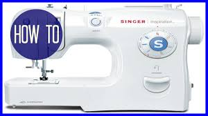 how to thread a sewing machine singer inspiration youtube