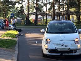 car maza car accident maza nometņu street and tallinas street kauguri life