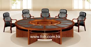 Circular Boardroom Table Shining Ideas Round Office Desk Astonishing Decoration Wooden