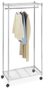 Decorative Metal Garment Floor Rack by Amazon Com Cover Only For Whitmor Garment Rack Home U0026 Kitchen