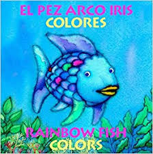 amazon rainbow fish colors colores bilingual spanish