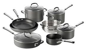 simply calphalon nonstick cookware set 12 piece walmart com