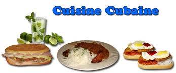 recette de cuisine cubaine la cuisine cubaine
