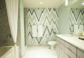 Designer Bathroom Wallpaper Osborne U0026 Little Volte Wallpaper Contemporary Bathroom