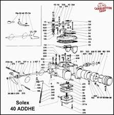 solex addhe carburetor parts