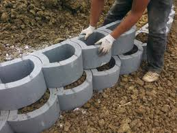 Garden Wall Retaining Blocks by Verdura Plantable Retaining Wall Contemporary Retainer Walls