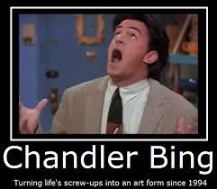 Chandler Meme - friends chandler bing by masterof4elements on deviantart