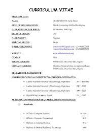 resume sle formats resume sle format pdf file 28 images business studies lecturer