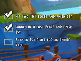 Challenge Angry The Complete List Of Race Challenge Types In Angry Birds Go What