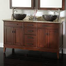Bathroom Cabinets For Bowl Sinks Stunning Vessel Sink Double Vanity And Bathroom Vanities With