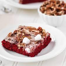 red velvet mississippi mud cake food fanatic