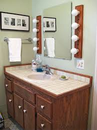 Vanity For Bathroom Sink Bathroom Vanity Makeover Ideas