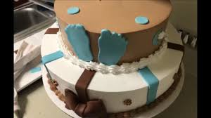 decorando pastel de baby shower con detalles en fondant youtube