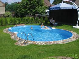 Swimming Pool In Small Backyard by Concrete Pool Designs Ideas Backyard Landscaping Ideas Swimming