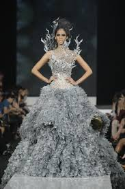 wedding dress designer jakarta designer tex saverio is the designer of katniss