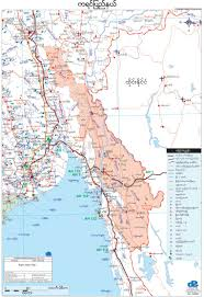 Map Burma Design Printing Services Myanmar Map