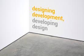 designing development developing design