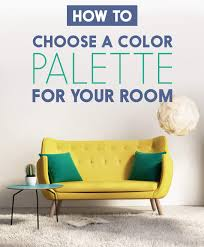 how to choose a color palette that won u0027t drive you insane
