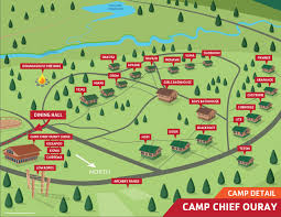 Map Of Neverland Map Of Camp Camp Chief Ouray