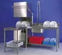 Commercial Hobart Dishwasher Hobart Dishwasher H65 Large Commercial Equipment Dishwashers