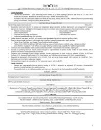 It Professional Resume Samples by Sample Resume Network Security Engineer Manual On Creating A